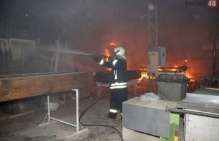 Fethiye'de Yangın