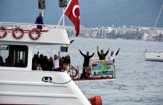 MARMARİS TEKNE TURLARI ZENGİN TURİSTLERLE BAŞLADI...