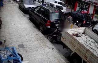 Muğla'da Motosiklet Sürücüsü, Sokak Ortasını...