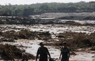 Brezilya'da çöken maden atık barajında 7...