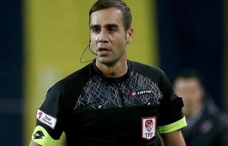 Galatasaray-Boluspor maçını Serkan Tokat yönetecek