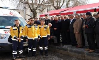 Seki 112 Acil Sağlık Hizmetleri İstasyonu Törenle Açıldı