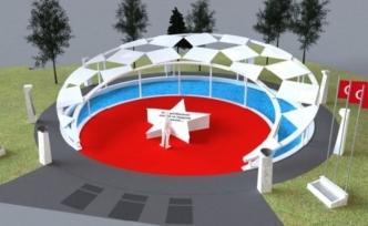 Milas'taki Şehitler Anıtı, Yeni Proje ve Yeni Firma ile Tamamlanacak