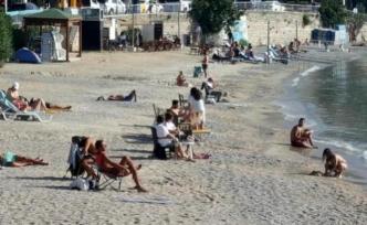 Bodrum'da, Kasımda Deniz Keyfi