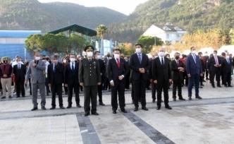 Fethiye 10 Kasımda Ulu Önderimizi Tören İle Andı