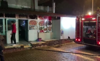 Dalaman'da Restoranda Çıkan Yangın Hasara Neden Oldu