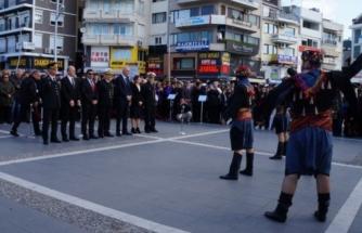 Atatürk'ün Marmaris'e Gelişinin 85. Yıldönümü Törenle Kutlandı