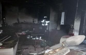 Bodrum'da Bir Evde Çıkan Yangın Paniğe Neden Oldu