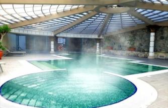 Bodrum'da Bir Otelde Termal Turizm Hizmeti Veriliyor