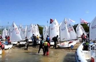 Bodrum'daki Yelken Yarışlarında Renkli Başladı