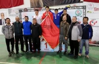 Dalaman'da Okul Sporları Halter Yarışmaları Düzenlendi!