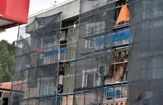 Marmaris'te İşçilerin Tehlikeli Mesaisi