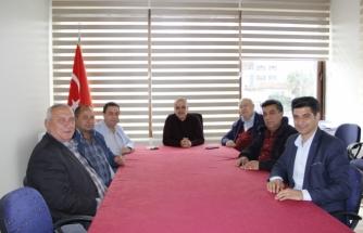 Muğlalı Muhtarlar Başkan Uzundemir'i Ziyaret Etti