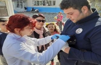 Ortaca Belediyesi Çocukların Hayvan Sevgisine İlgisiz Kalmadı