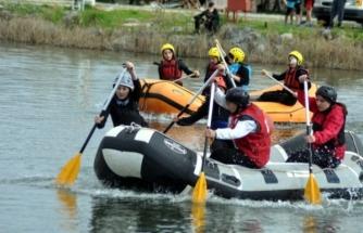 Ortaca'da Okul Sporları Rafting 1. Bölge Yarışları Yapıldı!