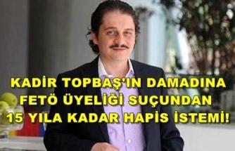 Topbaş'ın Damadı Ömer Faruk Kavurmacı'ya 15 Yıl Hapis İstemi!