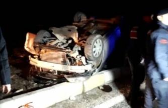 Yolcu Otobüsü ile Otomobil Çarpıştı: 3 Ölü 2 Yaralı