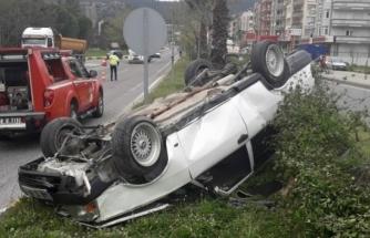 Milas'ta Yaşanan Trafik Kazasında 1 Kişi Yaralandı!