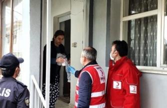 Muğla'da, Türk Kızılay'dan Koronavirüs İle Mücadeleye Destek