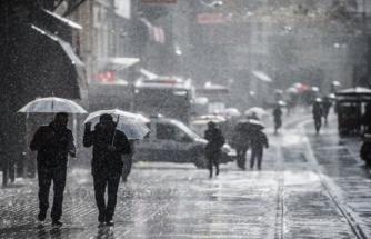 Marmara ve Ege'ye Yağmur Uyarısı
