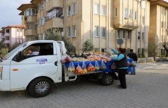 """Muğla'da Sebze-Meyve Ayağınıza Geldi: """"Seyyar Manav"""""""