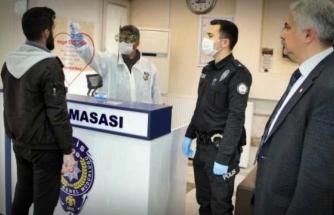 """Muğla'da Polislere """"Koronavirüs Kalkanı"""""""