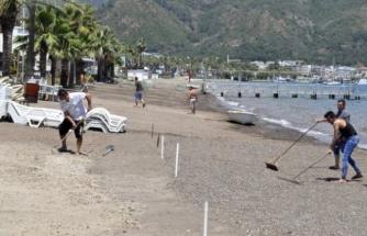 Marmaris'te İşletmeler ve Plajlar Normalleşme Sürecine Hazırlanıyor