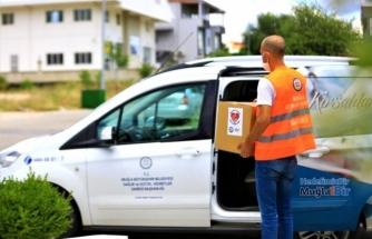 Muğla Büyükşehir Belediyesi 24 Bin Aileye Yardım Kolisi Dağıttı
