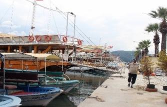 Sakin Kentteki Tur Tekneleri Turizm Sezonunu Bekliyor