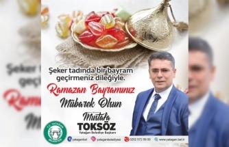 Yatağan Belediye Başkanı Toksöz Bayram Mesajı Yayımladı