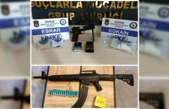 Bodrum'daki Uyuşturucu Operasyonunda 6 Şüpheli Yakalandı