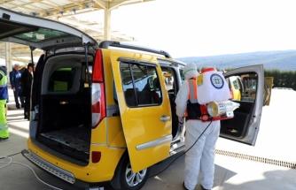 Büyükşehir Ulaşımda 35 Bin 663 Adet Dezenfekte İşlemi Yaptı