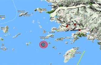 Datça Açıklarında 4,5 Büyüklüğünde Deprem Meydana Geldi