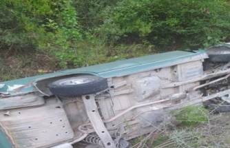 Köyceğiz'de Otomobil Şarampole Devrildi: 1 Ölü 1 Yaralı!