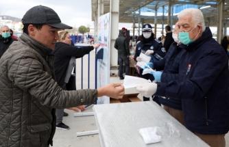 Muğla Büyükşehir Belediyesi 661 Bin 635 Adet Ücretsiz Maske Dağıttı
