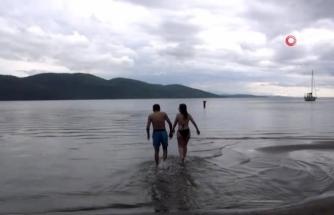 Muğla'da Deniz Hasreti Bitti