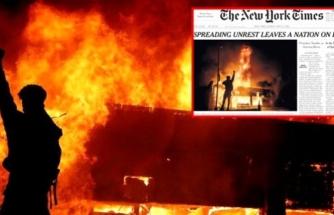 New York Times Manşete Taşıdı: Ülke Bölünmenin Kıyısında!