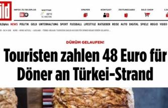 """Bodrum'da 48 Euroya Satılan Döner Avrupa'yı Şaşırttı: """"Bizde Aynısı 4,5 Euro"""""""