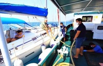 Muğla'da Denizden 420 Bin Poşet Atık Toplandı