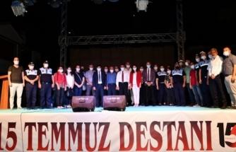 Yatağan'da 15 Temmuz Şehitler ve Gaziler Parkı Törenle Açıldı