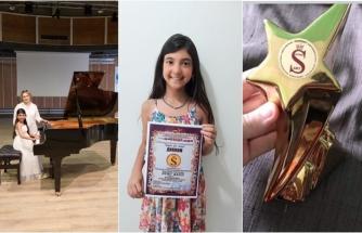 Duru Balcı, I. Brüksel Uluslararası Müzik Yarışması'nda Bodrum'a Birincilik Getirdi!