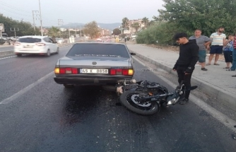 Milas'ta Bir Araçtan Sızan Yağ Kazalara Neden Oldu!