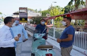 Milas'ta Koronavirüs Denetimleri Sürüyor