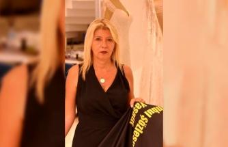 Pınar'ın Öldürülmesinden Etkilendi Yarısı Siyah Gelinlik Yaptı!