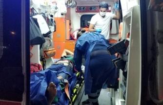 Seydikemer'de Korkutan Kaza! Otomobil Motosiklete Çarptı