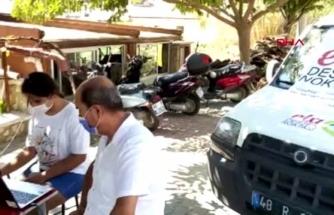 Datça'da Öğrencilere Gezici 'Eba' Destek Hizmeti