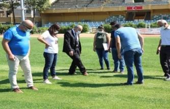 """İl Spor Müdürü İlman: """"Atatürk Stadyumu'nda Seferberlik İlan Ettik"""""""