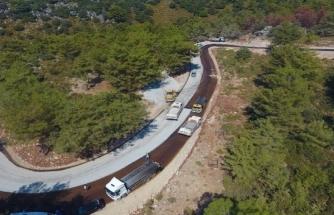 Karaağaç'ta Yol Çalışmaları Tamamlandı