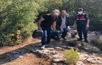 Menteşe'de Kaçak Kazı Yaparken Yakalandılar