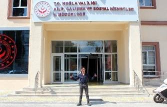 Muğla'da Bir Yaşında Tanıştığı Kurumda Memur Oldu